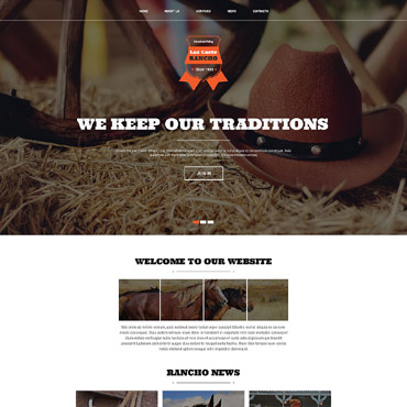 Website Template № 52413