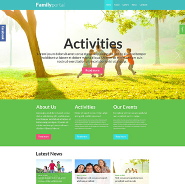 Website Template № 52464