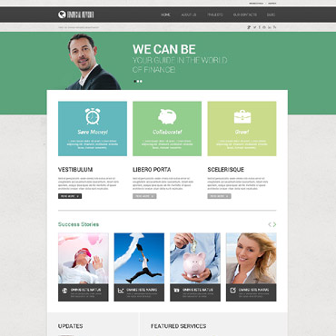 Website Template № 52470
