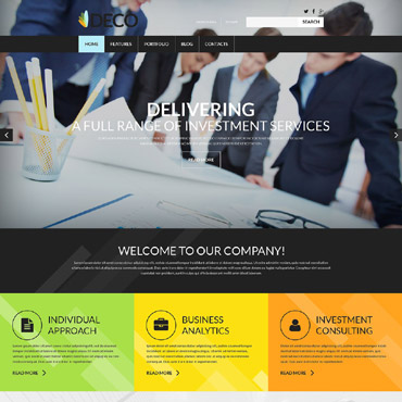 Website Template № 52504