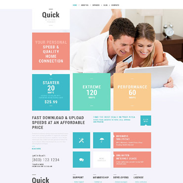 Website Template № 52550