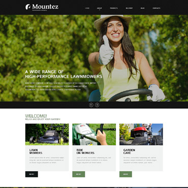 Website Template № 52589