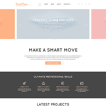 Website Template № 52602