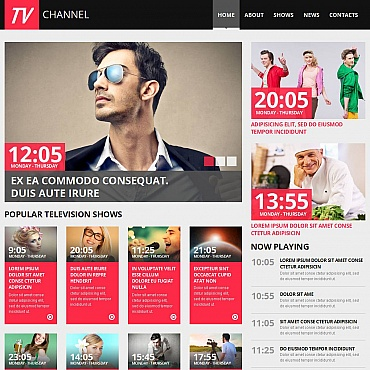 Website Template № 52620