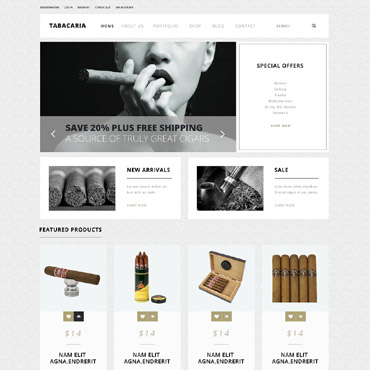 Website Template № 52630