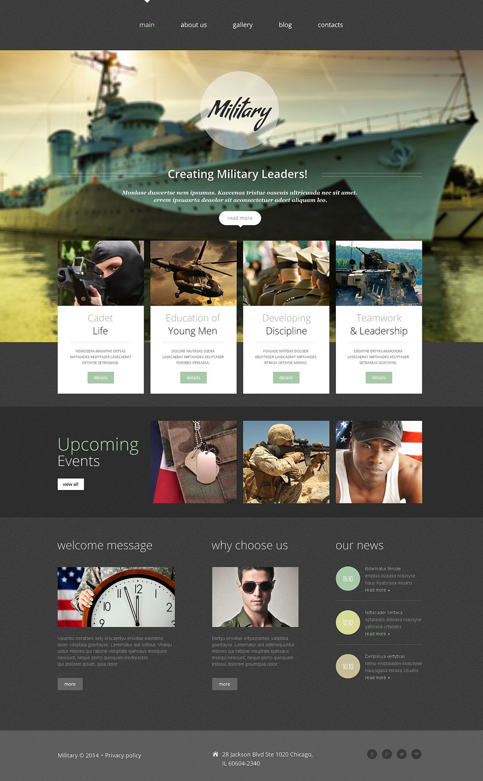 Template 52651 ensegna themes for Military recall roster template