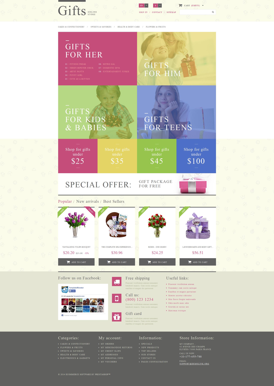 Gift Shop PrestaShop Theme