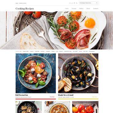 Template Mâncare și băutură HTML, JS şi CSS #52680