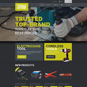 Website Template № 52698