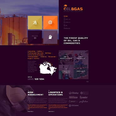 Website Template № 52710