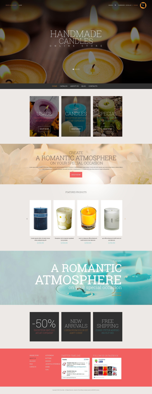 Fresh Style for Online Shop VirtueMart Template