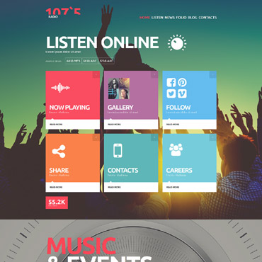 Template Divertisment Joomla #52769