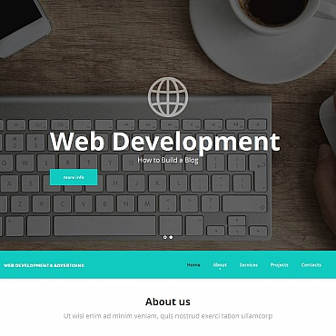 Template Software Moto CMS HTML #52770
