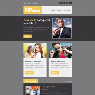 Website Template № 52812