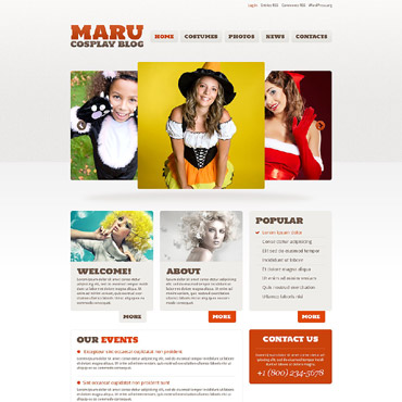 Template WordPress #52827