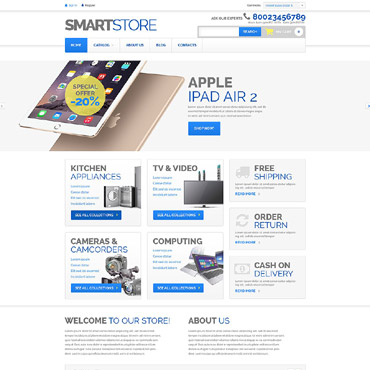 Website Template № 52903