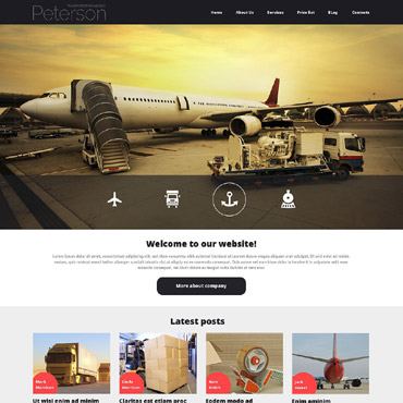 Website Template № 52923