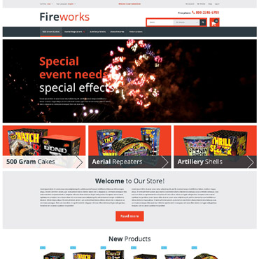 Template Divertisment Magento #53032