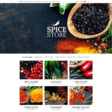 Template Mâncare și băutură OpenCart #53040
