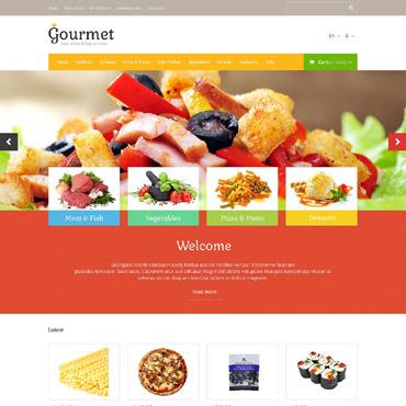 Template Mâncare și băutură OpenCart #53122