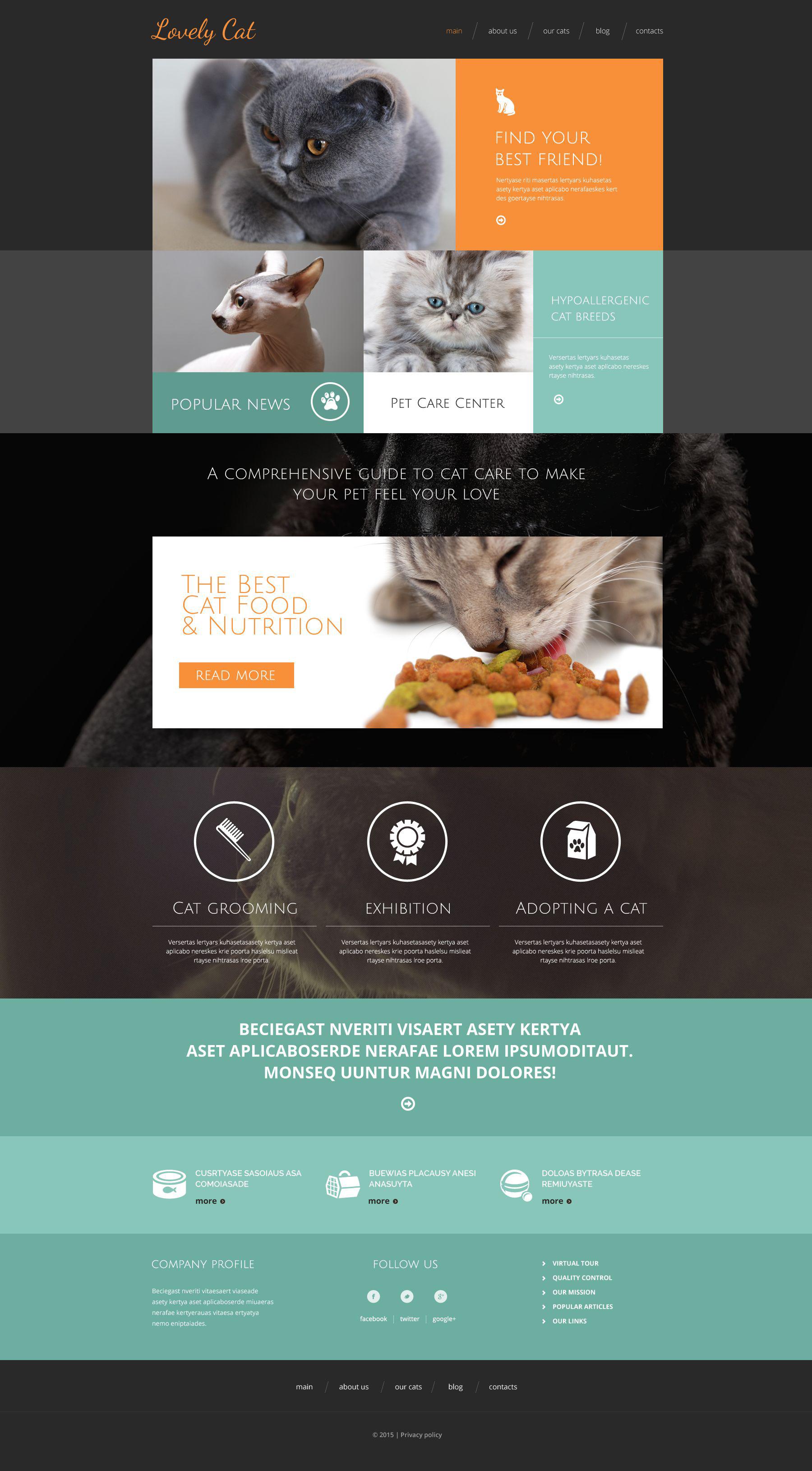 Exotic Pets Drupal Template