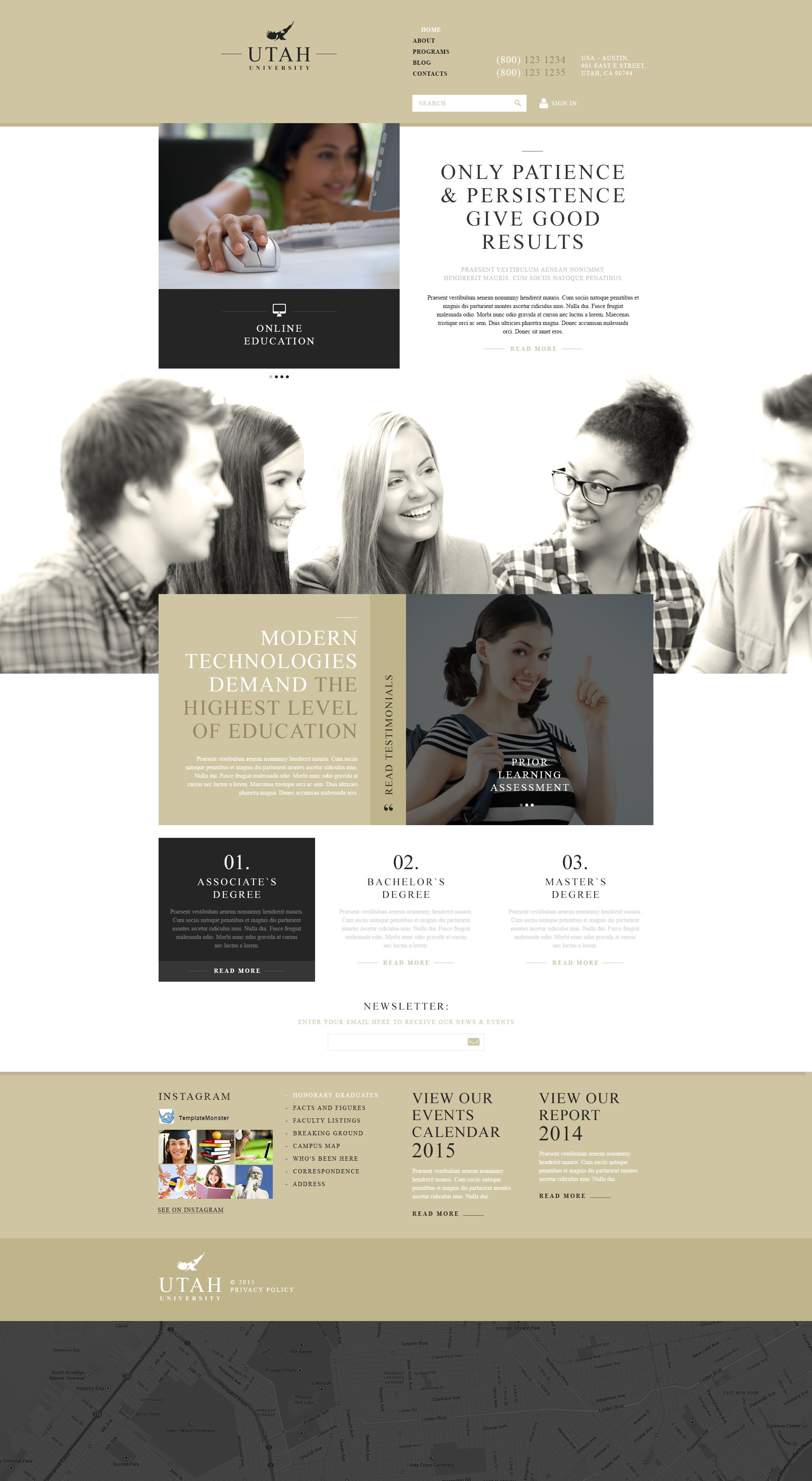 Education Organization Joomla Template