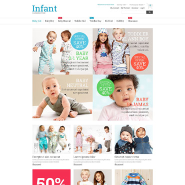 Template Familie Magento #53174