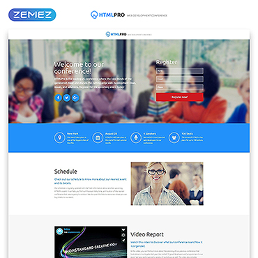Template Software Landing Page #53178