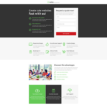 Template Software Unbounce Templates #53188