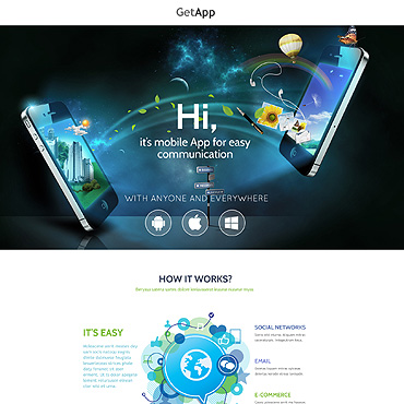 Template Software Unbounce Templates #53207