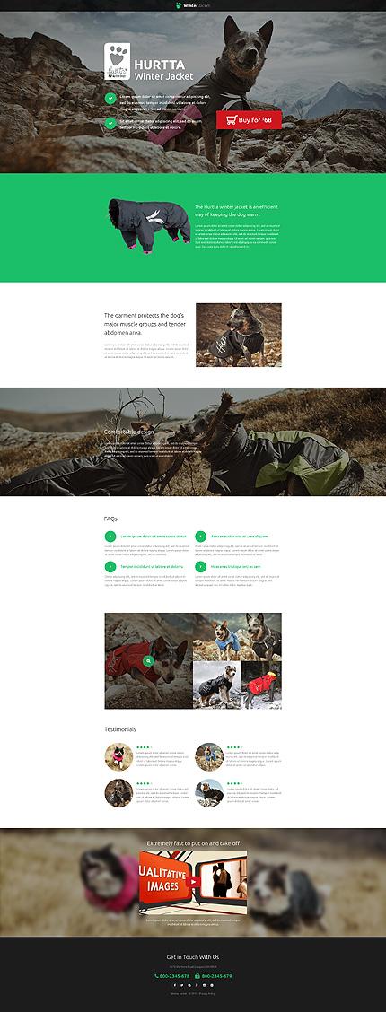 Unbounce Template Screenshot