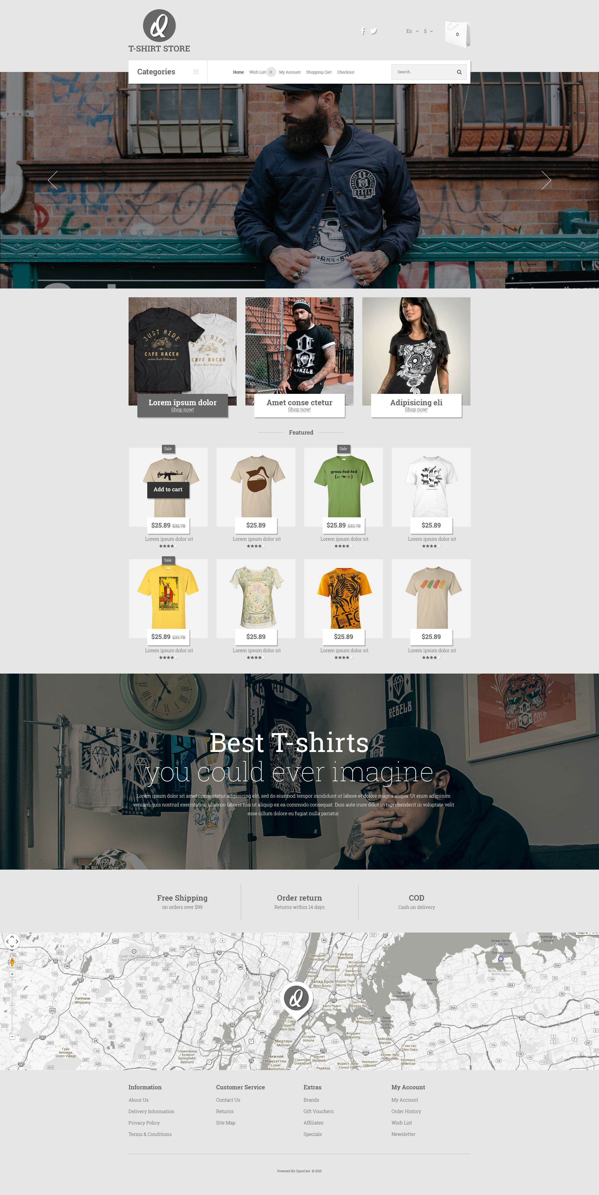 Smart Casual Style OpenCart Template