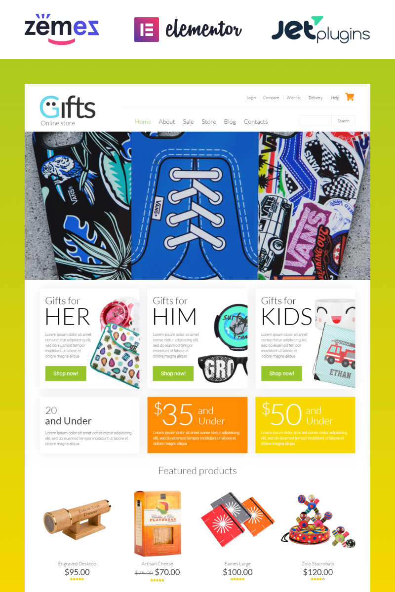 Gifts Shop WooCommerce Theme