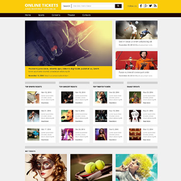 Website Template № 53332