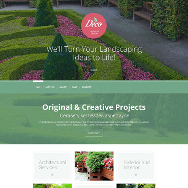 Website Template № 53389