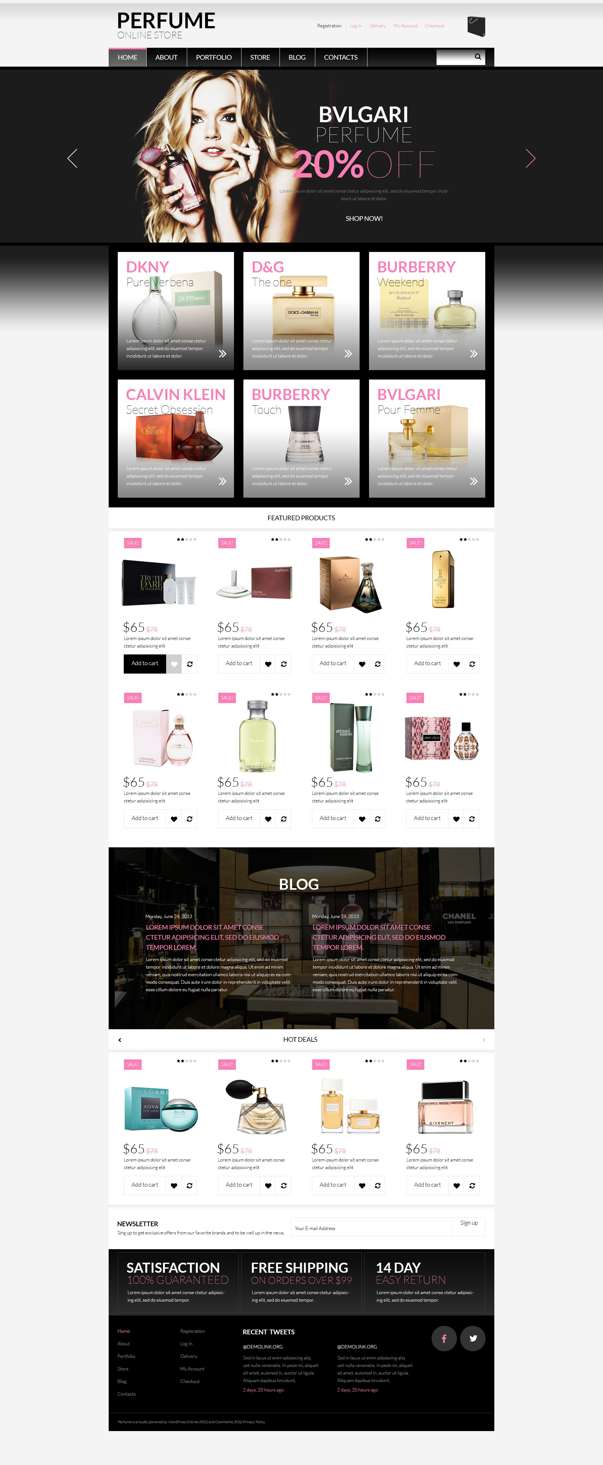 Beauty Supplies WooCommerce Theme