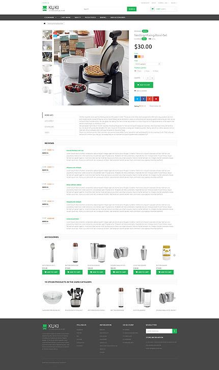 Prestashop Products Page Screenshot