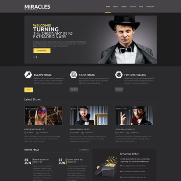 Website Template № 53433