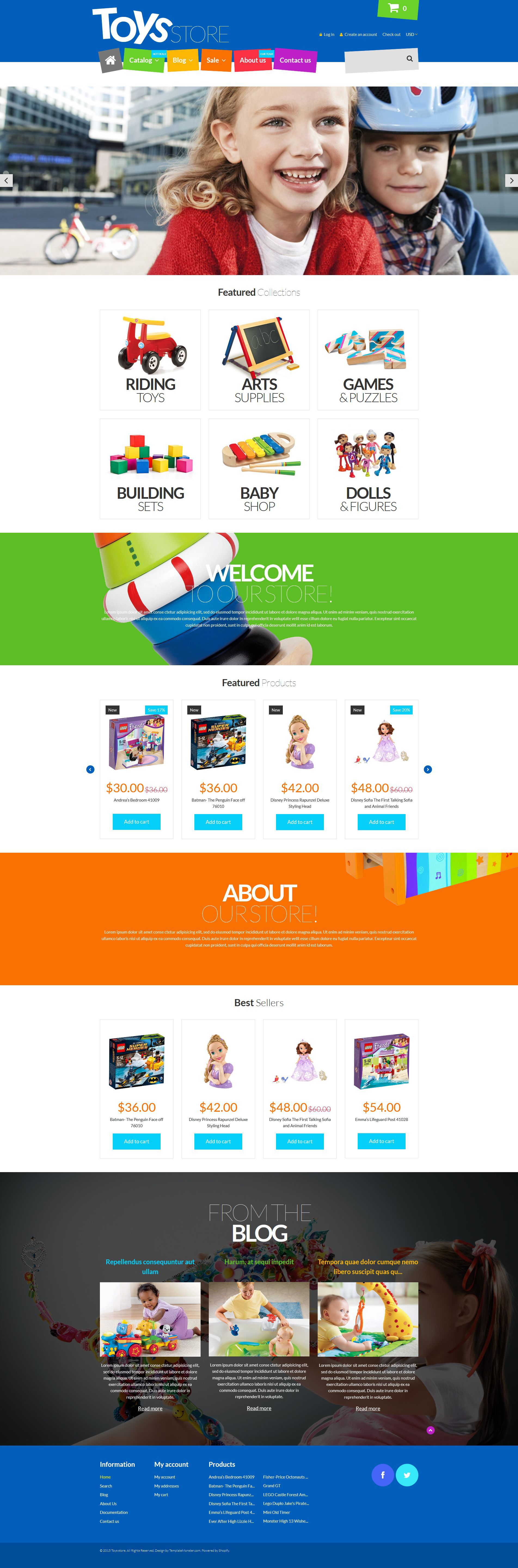 Fun Toys Shop Shopify Theme