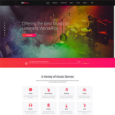 Website Template № 53455