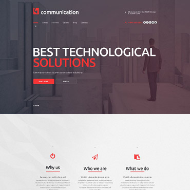 Website Template № 53485