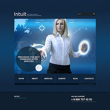 Website Template № 53549