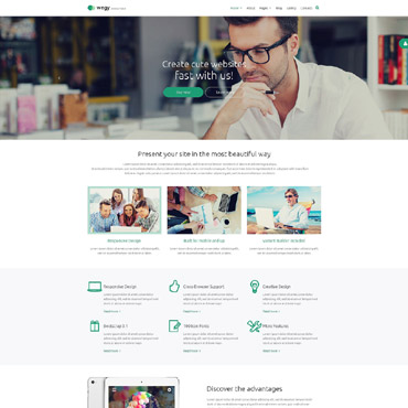 Template Web Design Joomla #53576