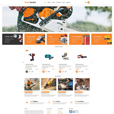 Website Template № 53599