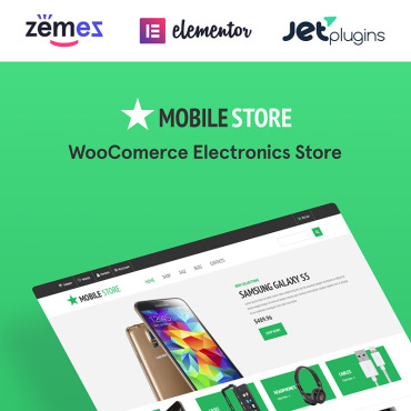 Template Electronice WooCommerce #53657