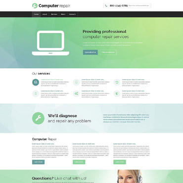 Website Template № 53695