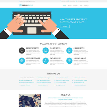 Website Template № 53761