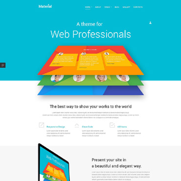 Template Web Design Joomla #53797