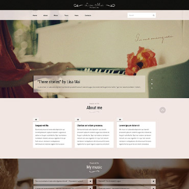 Website Template № 53798