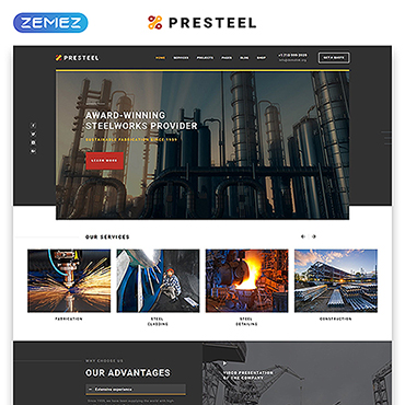 Website Template № 53901